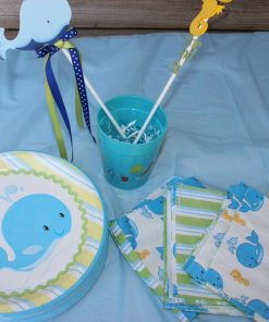 seahorse and whale centerpiece