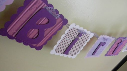 Everything Purple Birthday banner