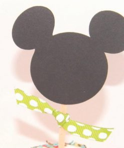Mickey mouse cupcake topper