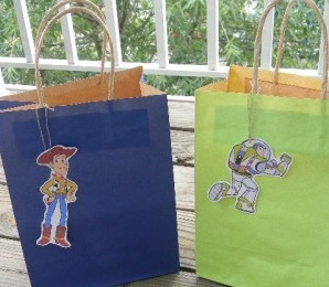 Toy story goodie bags