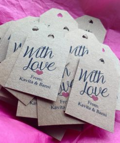 with love tags