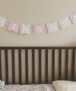 girl crib banner