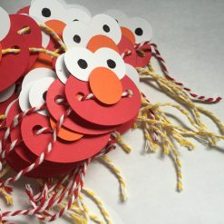 elmo napkin rings