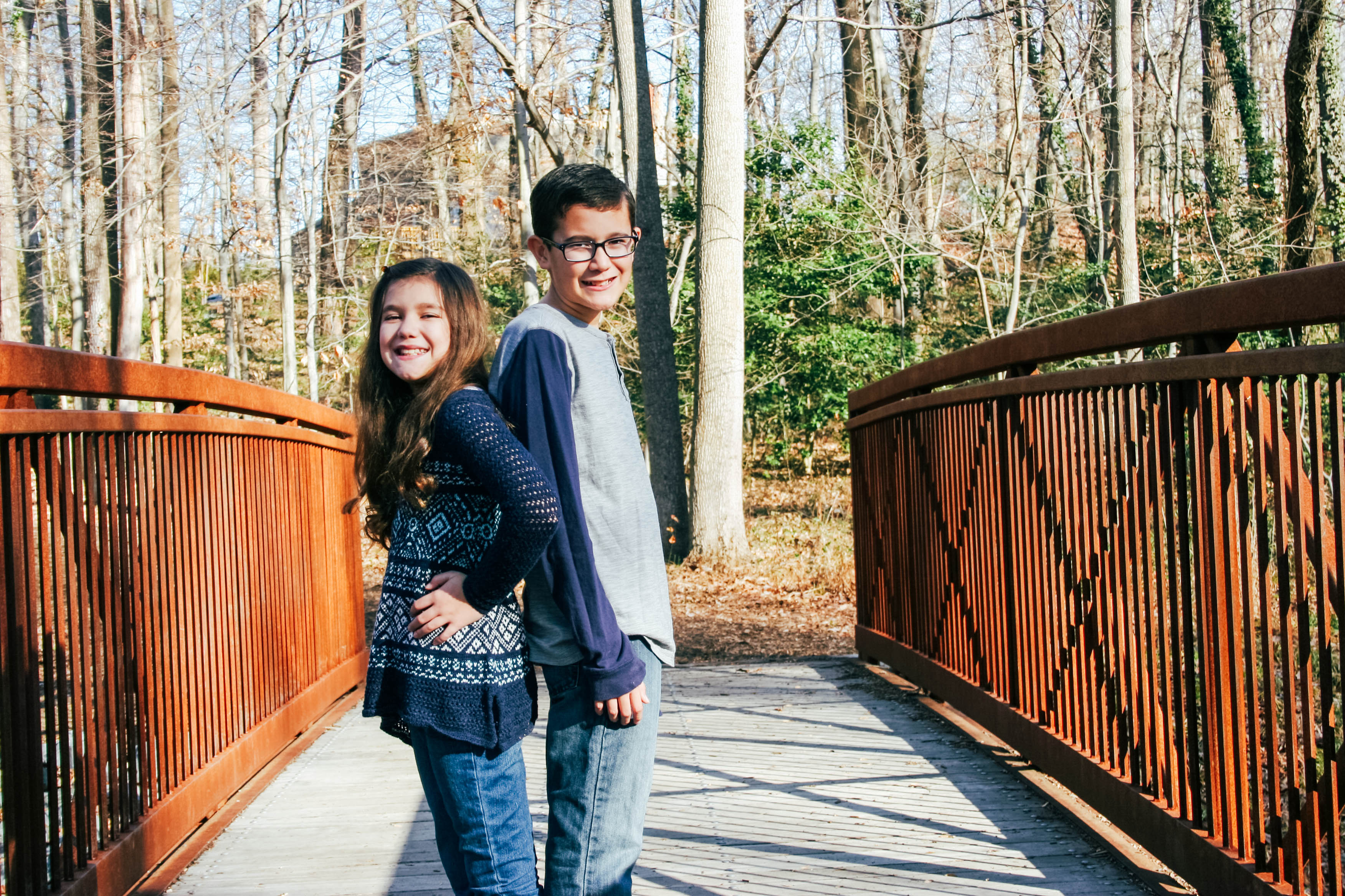 brother and sister photography