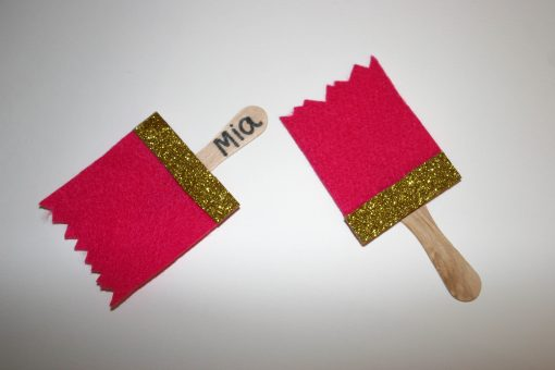 art party name tags