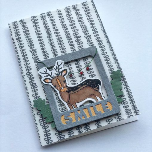 funny Rudolf christmas card