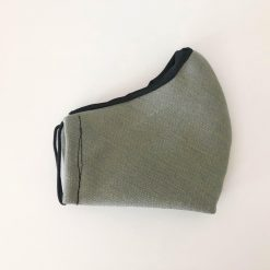 olive green solid mask