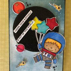 Astronaut birthday boy