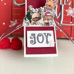 christmas 3D pop up card