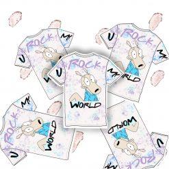 rockos modern life sticker