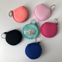 mask pouch keychain