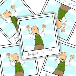 Doug show stickers